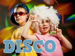 Urodziny w stylu disco